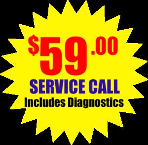 ac service call special